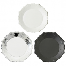 Assiettes chic assorties