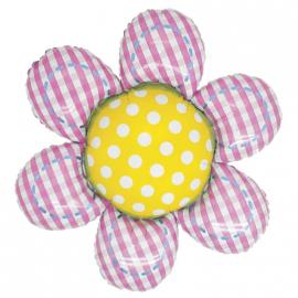 Ballon fleur patchwork