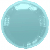 Ballon rond bleu