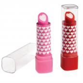 Gommes rouge à lèvres