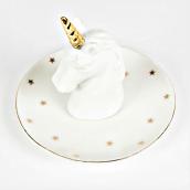 Coupelle céramique licorne