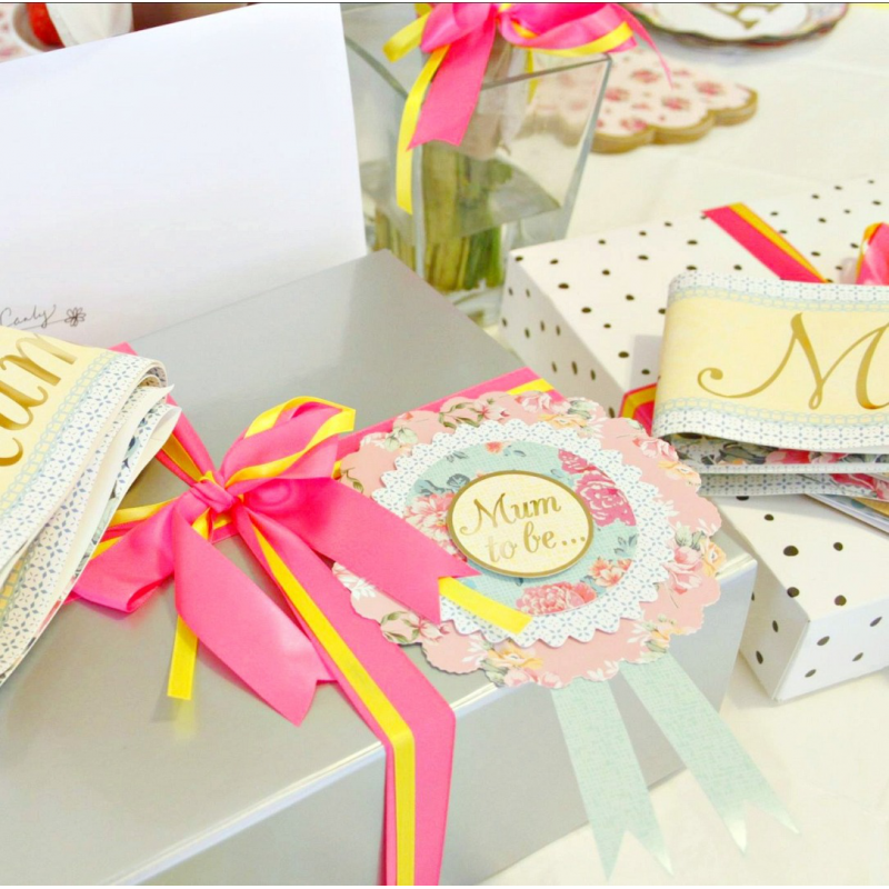 Mums Baby Shower: Accessoire Baby Shower Rosette Baby Shower Mum To Be