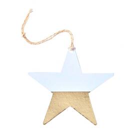 Etiquettes étoiles graphic or