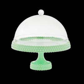 Cakestand verre avec cloche