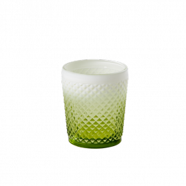 photophore pointe diamant vert