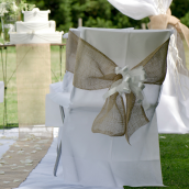 Housses de chaise intissée opaque