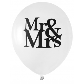 Ballons Mr & Mrs