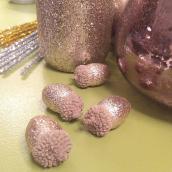 Glands paillettes cuivre