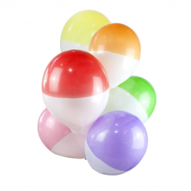 Ballons bicolores mix