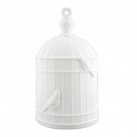 Lampe céramique cage