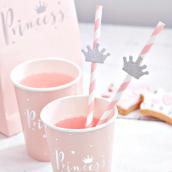 Pailles papier sweet princesse