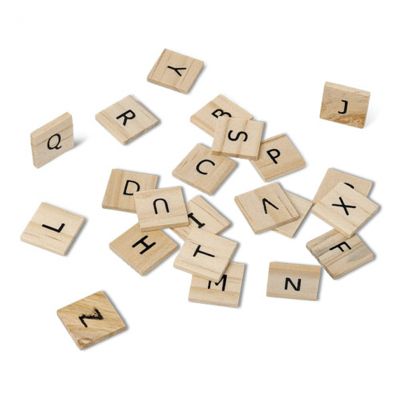 Lettres bois style scrabble