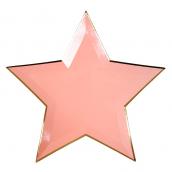Assiettes étoiles color mix