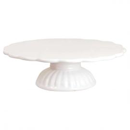 Cakestand céramique blanc