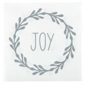 Serviettes papier couronne Joy