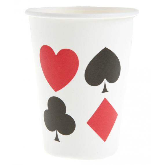 Gobelets cartes à jouer