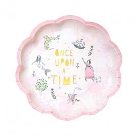 Assiettes gâteaux conte de fée