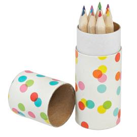 Set mini crayons confettis - Lot de 12