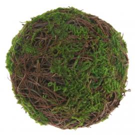 Boules mousse vert