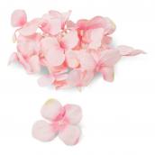 Pétales hortensia rose