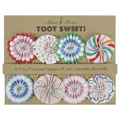 Cake topper rosaces multi party