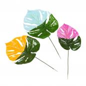 Feuilles tropicales couleurs