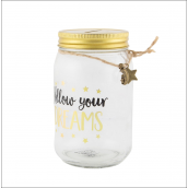 Urne mason jar follow your dream