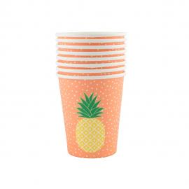 Gobelets ananas tropique