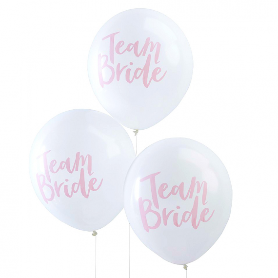 ballons evjf team bride. Black Bedroom Furniture Sets. Home Design Ideas