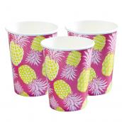 Gobelets summer ananas
