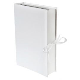 Urne tirelire livre blanc