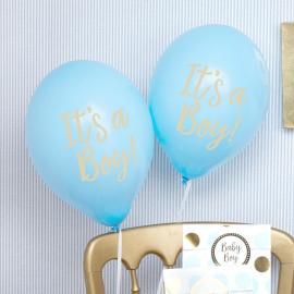 Ballons bleu it's a boy
