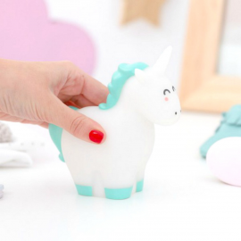 Mini veilleuse licorne