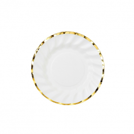 Petites assiettes jolie table gold
