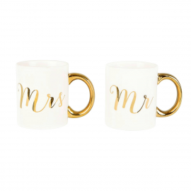 Mug duo Mr & Mrs or