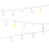 Guirlande de lumières pastel