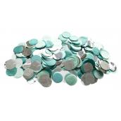 Confettis mix menthe et argent