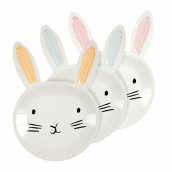 Assiettes sweet lapin