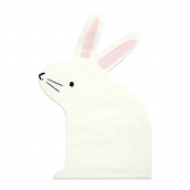 Serviette sweet lapin