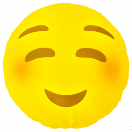 Ballon mylar emoji happy