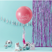 Kit ballon géant et tassel party