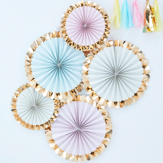 Pick & Mix - Fan Decorations - Pastel Kit