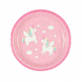 Assiettes sweet licorne
