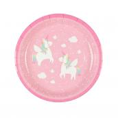 Assiettes sweet licorne