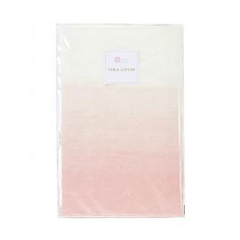 Nappe papier dégradé rose