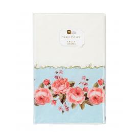 Nappe papier fleurs chintz