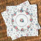 Serviettes papier tea time chic - Lot de 20