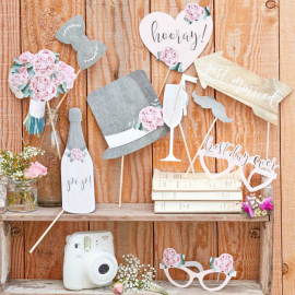 Photobooth mariage vintage chic