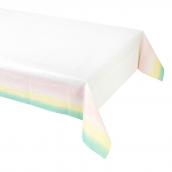 Nappe papier arc en ciel