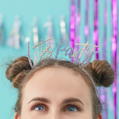 Good Vibes - Headband - Lets Party
